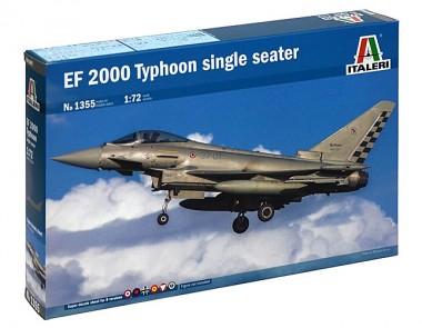 Сборная модель самолет EuroFighter 2000 Typhoon 1:72 арт.1355