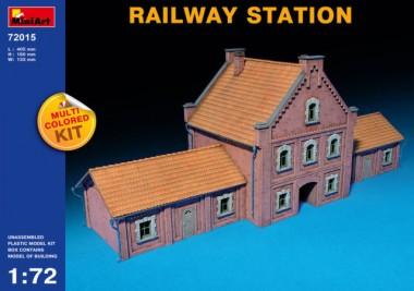 Наборы для диорам RAILWAY STATION 1:72