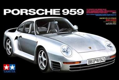 Сборная модель Porsche 959 1:24 арт.24065