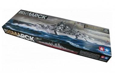Линкор Бисмарк 1:350