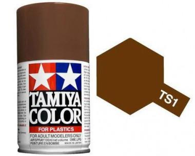 Краска TS-1 Red Brown (Красно-коричневая) краска матовая