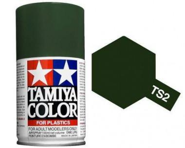 Краска TS-2 Dark Green (Темно-зеленая) матовая