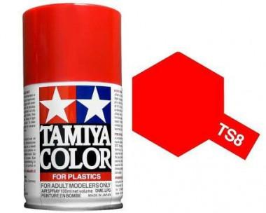 Краска TS-8 Itallian Red (итальянский красный) глянцевая