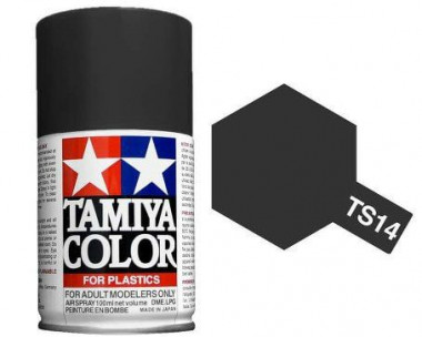 Краска TS-14 Black (Черная глянцевая)