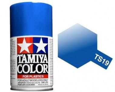 Краска TS-19 Metallic Blue (Cиняя металлик) гянцевая