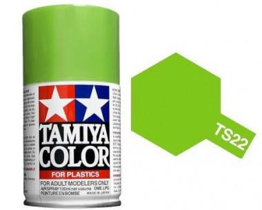 Краска TS-22 Light Green (Светло-зеленая) глянцевая