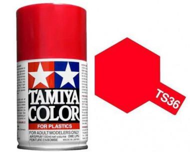 Краска TS-36 Fluorescent Red (Флуоресцентная красная) глянцевая