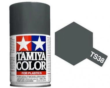 Краска TS-38 Gun Metal (Cтальной)