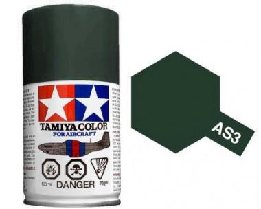 Краска AS-3 Gray Green (luftwaffe) полуматовая спрей 100гр
