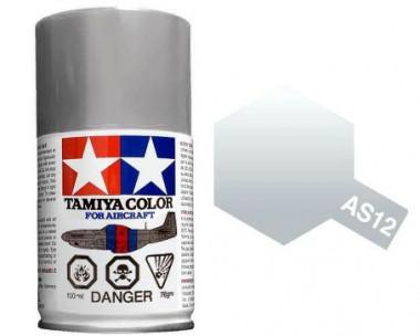 Краска AS-12 Bare-Metal Silver полуматовая спрей 100гр