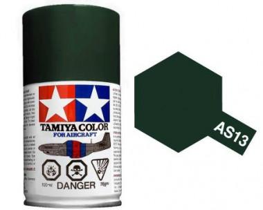 Краска AS-13 Green (USAF) полуматовая спрей 100гр