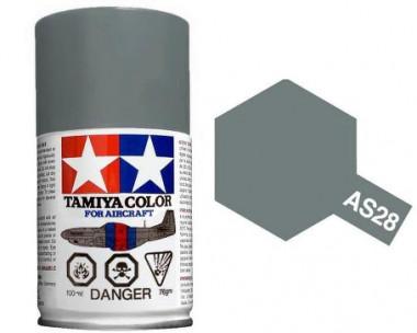 Краска AS-28 Medium Gray полуматовая спрей 100гр