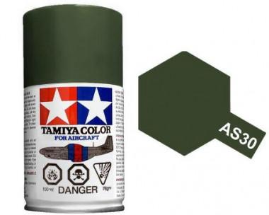 Краска AS-30 Dark Green 2 RAF полуматовая спрей 100гр