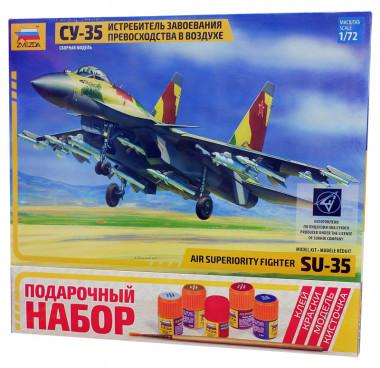 Истребитель завоевания превосходства в воздухе Су-35