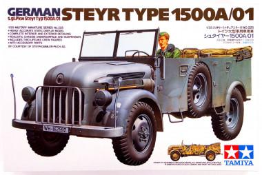 Автомобиль Steyr Type 1500A/01 1:35