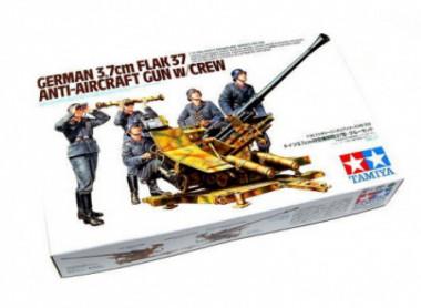 Пушка Flak 37 с расчетом 1:35