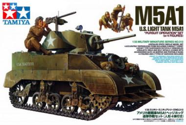 Танк М5А1 1:35