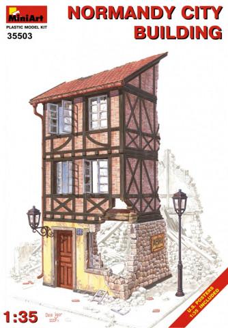 Разрушенный европейский дом 1:35