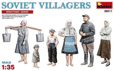 Советские сельские жители 1:35