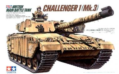 Сборная модель 1/35 Танк CHALLENGER 1 (Mk.3)