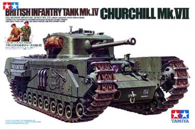 Сборная модель 1/35 Танк Черчилль VII
