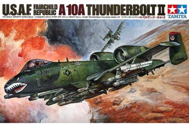 Сборная модель тамия 1/48 A-10A THUNDERBOLT II