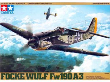Сборная модель 1/48 FOCKE-WULF Fw190 A-3