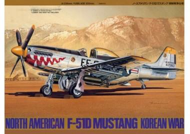 Сборная модель 1/48 Амер. P-51D Mustang Korean War
