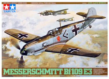 Сборная модель 1/48 MESSERSCHMITT Bf109 E-3