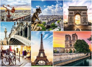 Пазл 3000 арт.33065 Магия Парижа - коллаж