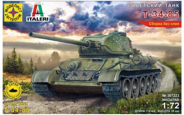 Сборная модель Т-34-85 1:72