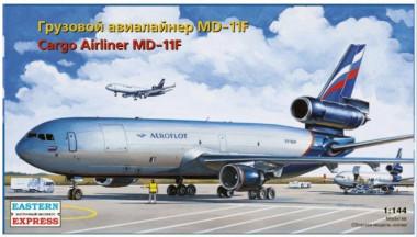 Сборная модель MD-11F GE Cargo Аэрофлот