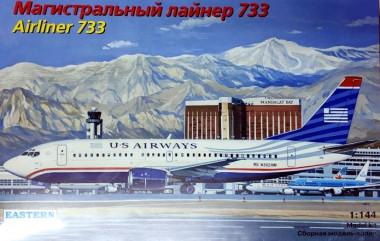 Сборная модель Авиалайнер 737-300 US airways