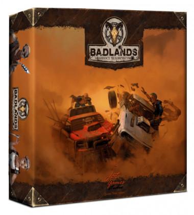 Настольная игра Badlands. Аванпост человечества