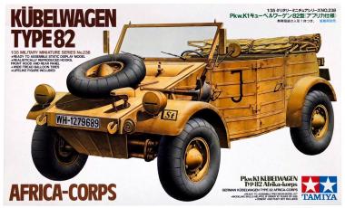 1/35 Кубельваген Type 82 Africa-Corps