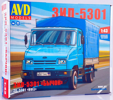 1405AVD грузовик ЗИЛ-5301 Бычок (1:43)