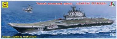 сборная модель Авианесущий крейсер Адмирал Кузнецов 1:700