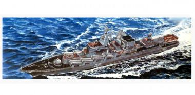 Сборная модель Ракетный крейсер Маршал Устинов 1:700