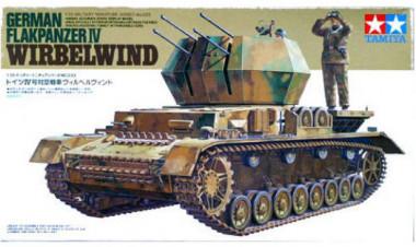 Сборная модель FLAKPANZER IV WIRBELWIND 1:35 tamiya 35233