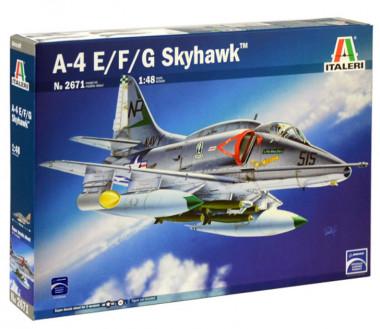 Самолёт A-4 E/F/G Skyhawk italeri 2671