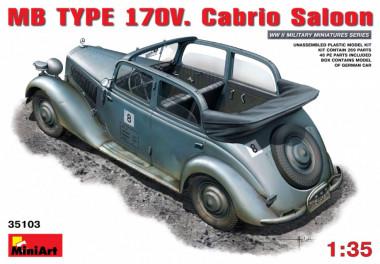Автомобиль MB TYPE 170V. Cabrio Saloon 1:35 35103
