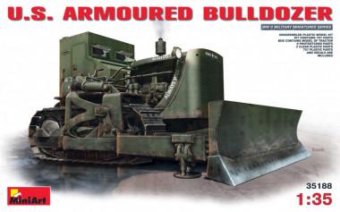 Трактор U.S. ARMOURED BULLDOZER 1:35  арт.35188