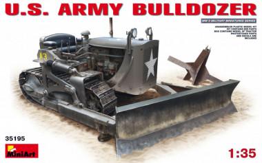Трактор U.S. ARMY BULLDOZER 1:35 арт.35195