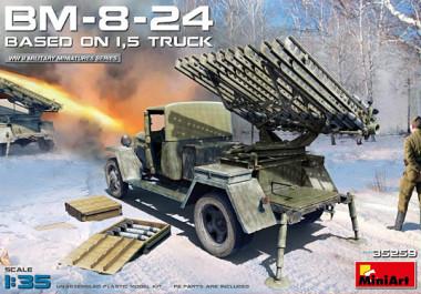 Грузовик BM-8-24 BASED ON 1,5t TRUCK 1:35 35259