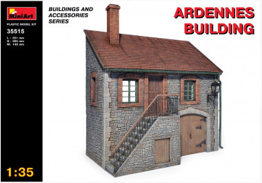 ARDENNES BUILDING 1:35 35515