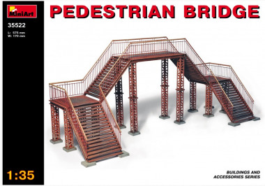 PEDESTRIAN BRIDGE 1:35 35522