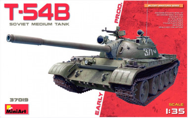 Танк T-54B EARLY PRODUCTION 1:35 37019