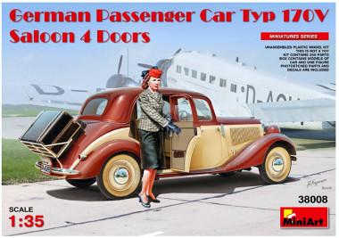 GERMAN PASSENGER CAR TYP 170V SALOON 4 DOORS 38008