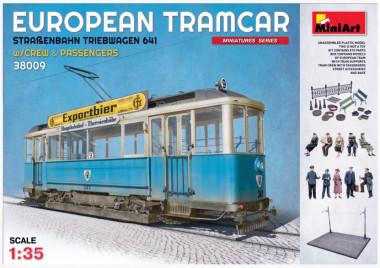 сборная модель трамвай EUROPEAN TRAMCAR