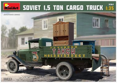 сборная модель SOVIET 1,5 TON CARGO TRUCK 1:35 38013